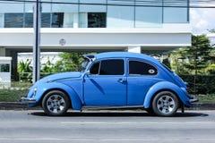 Vintage Private Car, Volkswagen beetle. Stock Photo