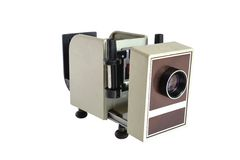 Vintage projector Royalty Free Stock Photos