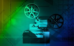 Vintage projector Stock Photography