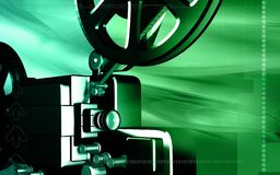 Vintage projector Royalty Free Stock Photography