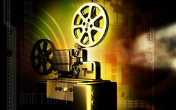 Vintage projector Stock Photo