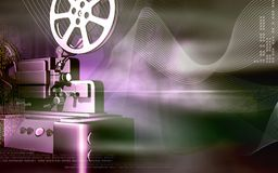 Vintage projector Stock Images