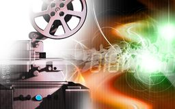Vintage projector Royalty Free Stock Photo