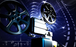 Vintage projector Royalty Free Stock Image