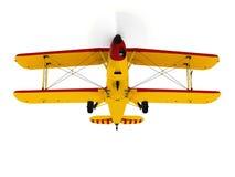 Vintage propeller biplane Royalty Free Stock Image