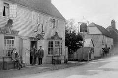 1901 Vintage Photo of Public House, Brenchley, Kent Stock Image