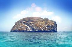 Vintage Puerto Vallarta Mexico island Stock Photography
