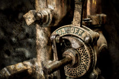 Vintage Pull Lever. Fine Art Shallow Depth of Field Texture Vignette photography royalty free stock images