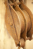 Vintage Pulley Stock Photos