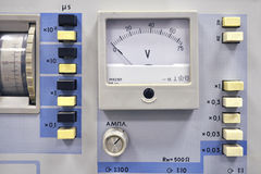 Vintage pulse generator Royalty Free Stock Photo