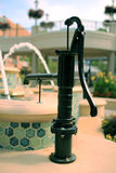 Vintage Pump Water Fountain Royalty Free Stock Images