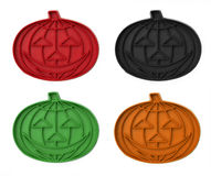 Vintage Pumpkin Cookie Cutters Royalty Free Stock Photos