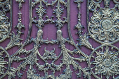 Vintage purple background; violet antique style decorative. Stock Photos
