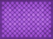 Vintage purple circles pattern. Retro purple circles pattern on a faded purple background royalty free illustration