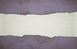 Vintage purple paper background with stripe and dirty stains Royalty Free Stock Images