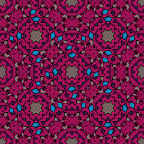 Vintage purple seamless pattern with filigree Royalty Free Stock Photography