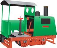 Vintage Quarry Locomotive royalty free illustration