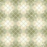 Vintage quatrefoil decorative seamless pattern, vector natural b Stock Photo