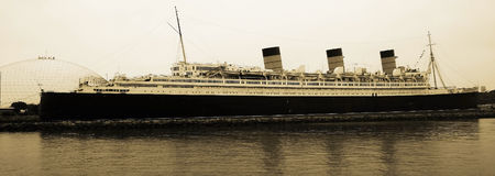 Vintage Queen Mary Stock Image