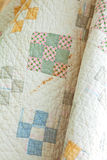 Vintage Quilt Stock Photography