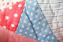 Vintage quilt background Royalty Free Stock Photo