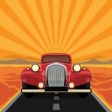 Vintage, rétro voiture Photos libres de droits