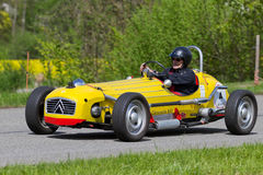Vintage race car Citro�n 2 CV Spezial from 1971 Royalty Free Stock Photo