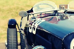 Vintage race car Stock Photography
