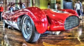 Vintage race car Royalty Free Stock Photo