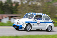 Vintage race touring car Fiat Stock Image