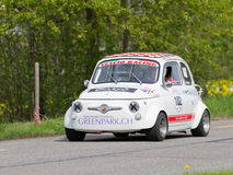 Vintage race touring car Fiat Royalty Free Stock Photos