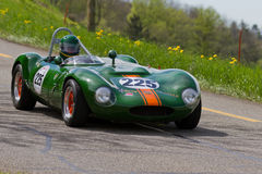 Vintage race touring car Ginetta G4R from 1963 Stock Photography
