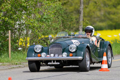 Vintage race touring car Morgan Stock Image