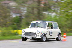 Vintage race touring car Morris Royalty Free Stock Image
