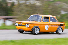 Vintage race touring car NSU 1200 Stock Image