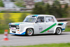 Vintage race touring car Simca Stock Photography