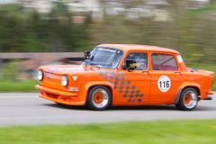 Vintage race touring car Simca Stock Photos