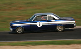 Vintage racing car Stock Images
