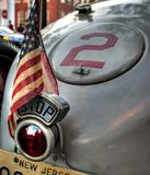 Vintage racing car Royalty Free Stock Photo