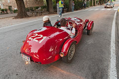 Vintage racing car Ermini Ssport Siluro (1951) Stock Photography