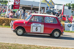 Vintage racing Mini Royalty Free Stock Images