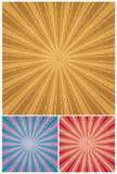 Vintage Radial Background Royalty Free Stock Photos