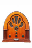 Vintage Radio. A vintage radio over white background Royalty Free Stock Images