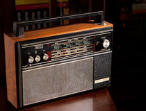 Vintage radio royalty free stock images
