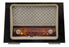 Vintage radio on Royalty Free Stock Photography