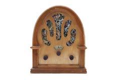 Vintage Radio. Isolated on white background Stock Image
