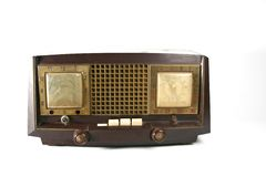 Vintage radio. Retro radio royalty free stock images