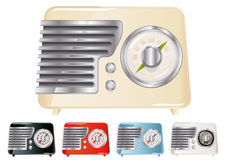 Vintage Radio. Illustration (Global Swatches Included Stock Images