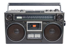 Vintage radio cassette Royalty Free Stock Image