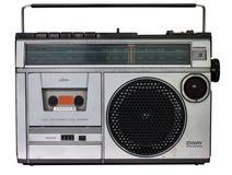 Vintage radio cassette recorder Stock Photo